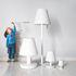Lampe de sol Edison the Grand Bluetooth / H 90 cm - LED - Fatboy