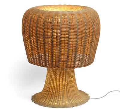 Luminaire - Lampes de table - Lampe de table Amanita H 60 cm - Alessi - Rotin - Rotin