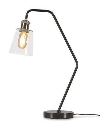 Luminaire - Lampes de table - Lampe de table Paris / Marbre & verre - It's about Romi - Noir - Fer peint, Marbre, Verre