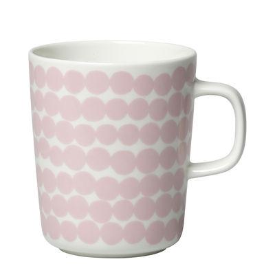 Tableware - Coffee Mugs & Tea Cups - Siirtolapuutarha Mug - / 25 cl by Marimekko - Siirtolapuutarha / Pink - Sandstone