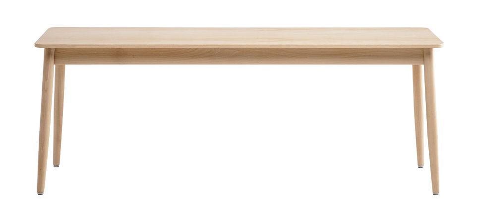 Arredamento - Panchine - Panca Oto / L 150 cm - Legno - Ondarreta - Nude - Faggio massiccio colorato
