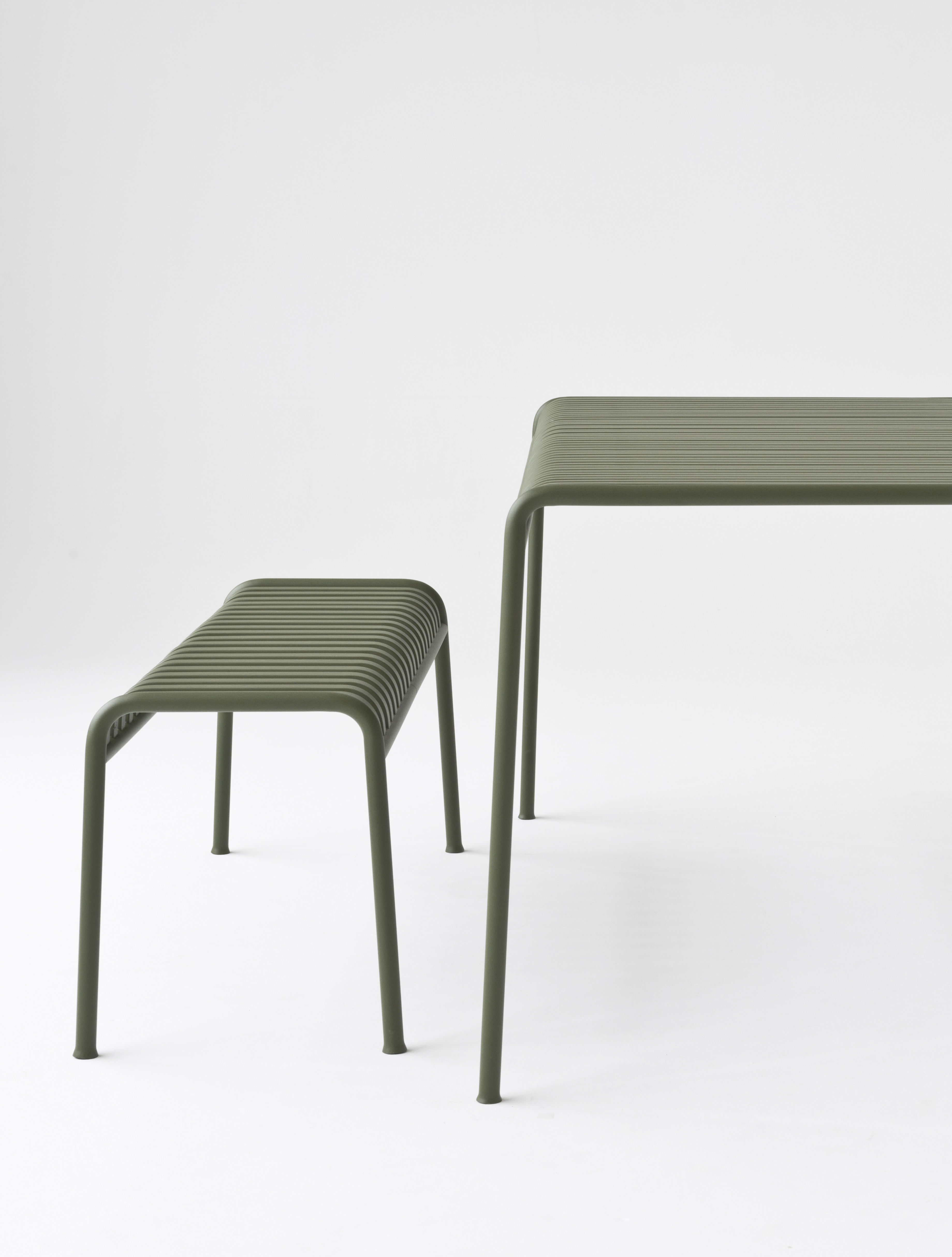 Panchina palissade di hay grigio made in design for Arredamento made in china