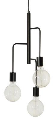 Lighting - Pendant Lighting - Cool Pendant - / Ø 25 cm by Frandsen - Black - Painted metal