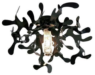 Plafonnier Mini Coral - Lumen Center Italia noir en métal