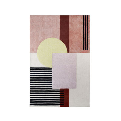 Decoration - Rugs - Around colors Rug - / 190 x 300 cm - Hand-tufted by Wiener GTV Design - 190 x 300 cm / Yellow - Viscose, Wool