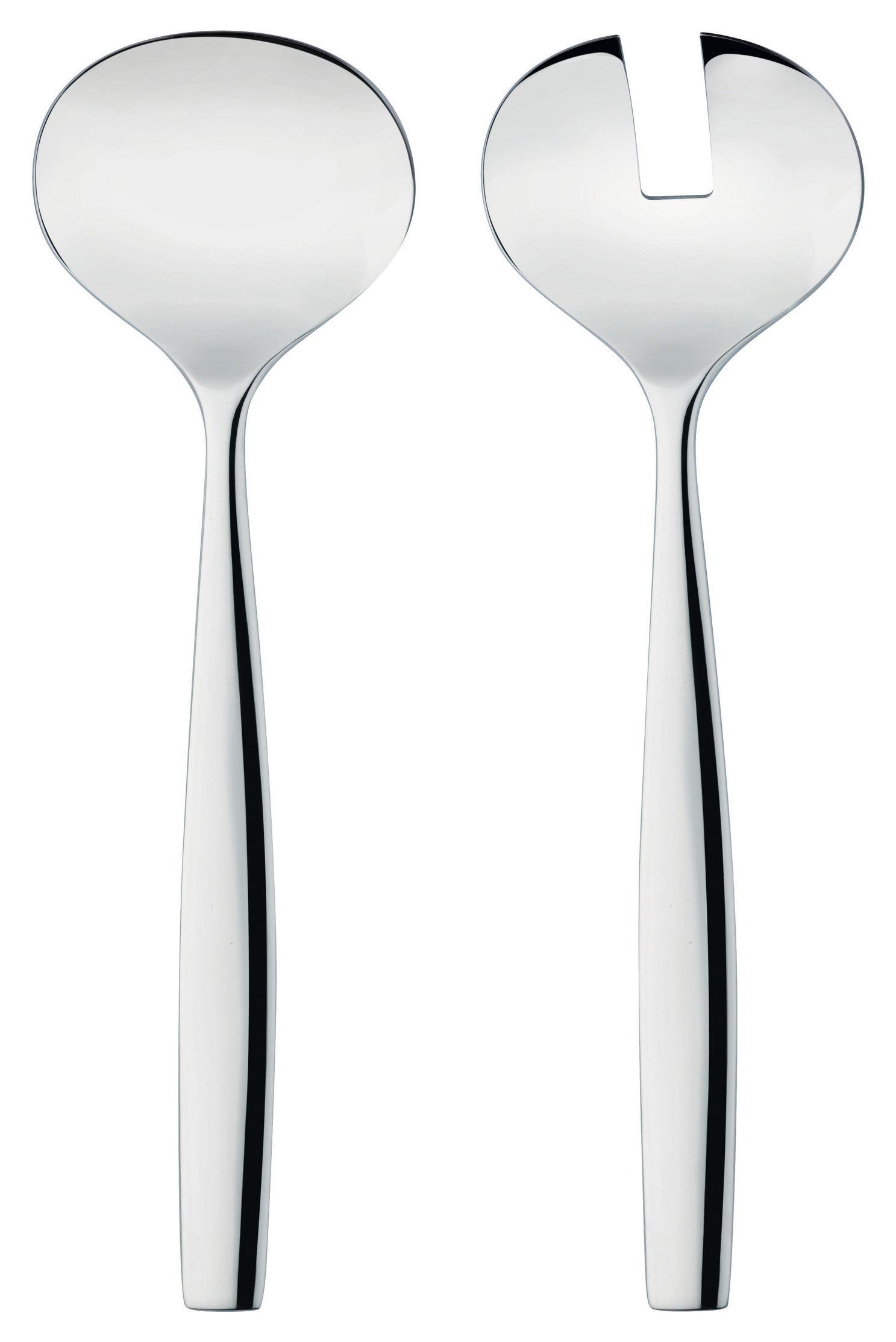 Tischkultur - Couverts de service - Dressed Salatbesteck - Alessi - Salatbesteck - Edelstahl - rostfreier Stahl