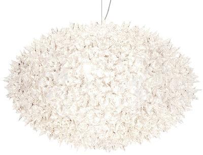 Illuminazione - Lampadari - Sospensione Big Bloom - /Modello Extra large - Elliptique - Ø 80 cm x H 51,5 cm di Kartell - Cristallo trasparente - policarbonato