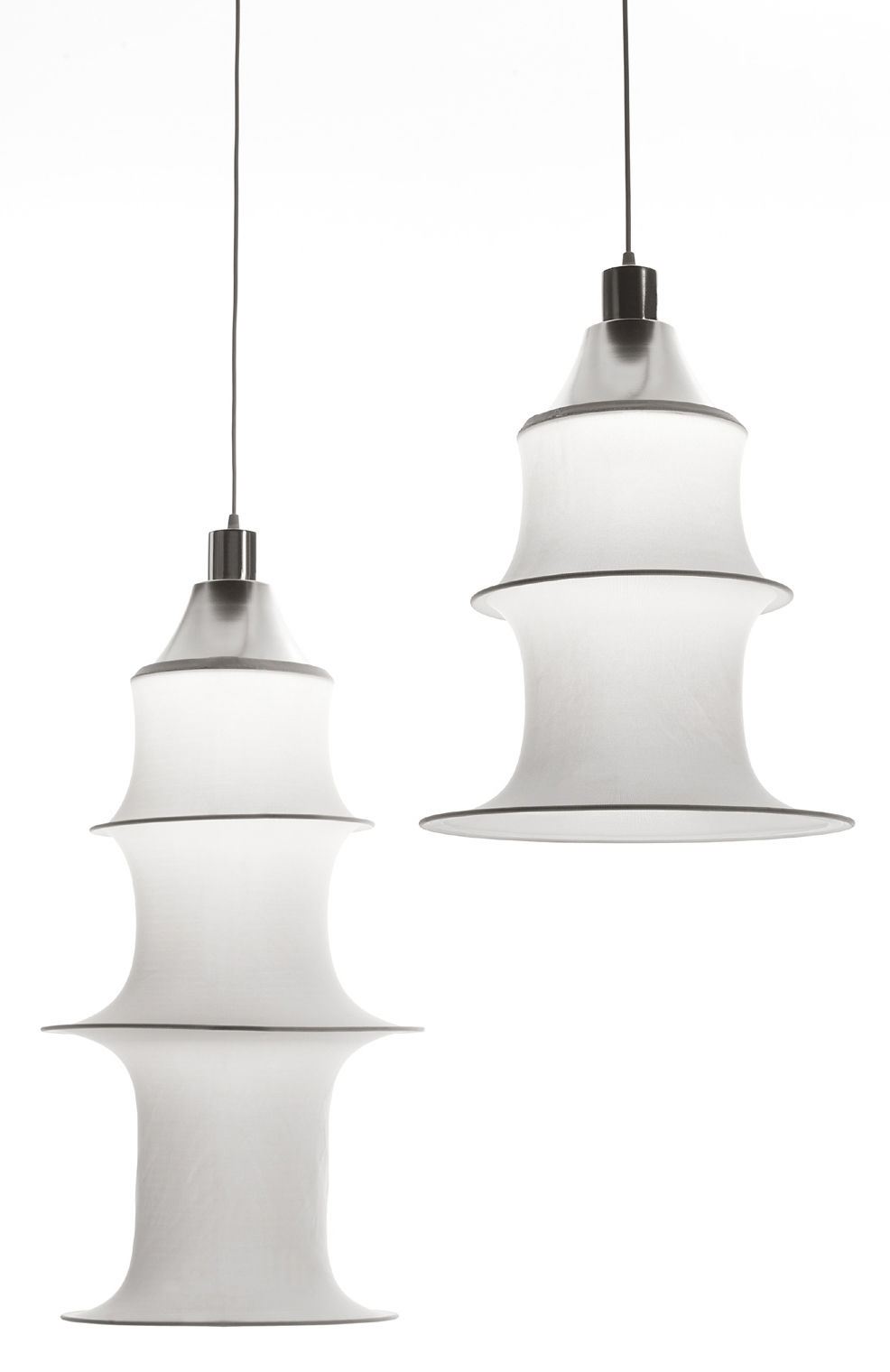 suspension falkland h 165 cm blanc version non ignifuge danese light made in design. Black Bedroom Furniture Sets. Home Design Ideas