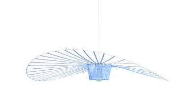 Suspension Vertigo Small / Ø 140 cm - Edition spéciale 5 ans - Petite Friture bleu clair en matière plastique