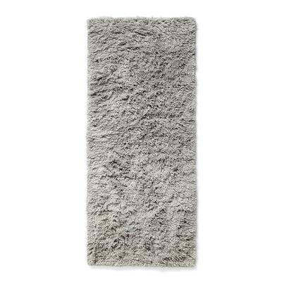 Déco - Tapis - Tapis Shaggy / 80 x 200 cm - Poils longs - Hay - 80 x 200 cm / Gris chaud - Laine