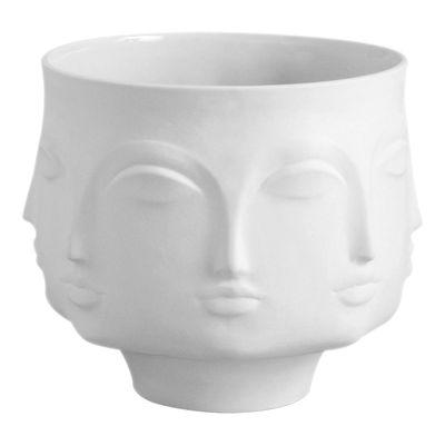 Dekoration - Vasen - Dora Maar Vase / Vase - Jonathan Adler - Weiß - Porzellan