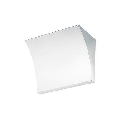 Lighting - Wall Lights - Pochette LED Wall light - / Upward lighting by Flos - White - Zamak alloy