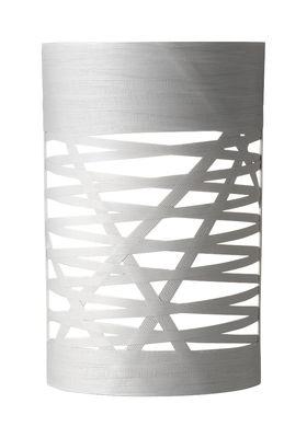 Applique Tress Mini / H 40 cm - Foscarini blanc en matière plastique