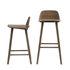 Nerd Bar chair - / H 75 cm - Wood by Muuto