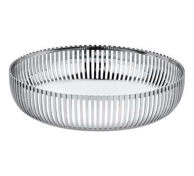 Tableware - Fruit Bowls & Centrepieces - PCH02 par Pierre Charpin Basket - Ø 20 cm by Alessi - Ø 20 cm - Mirror polished steel - Polished stainless steel