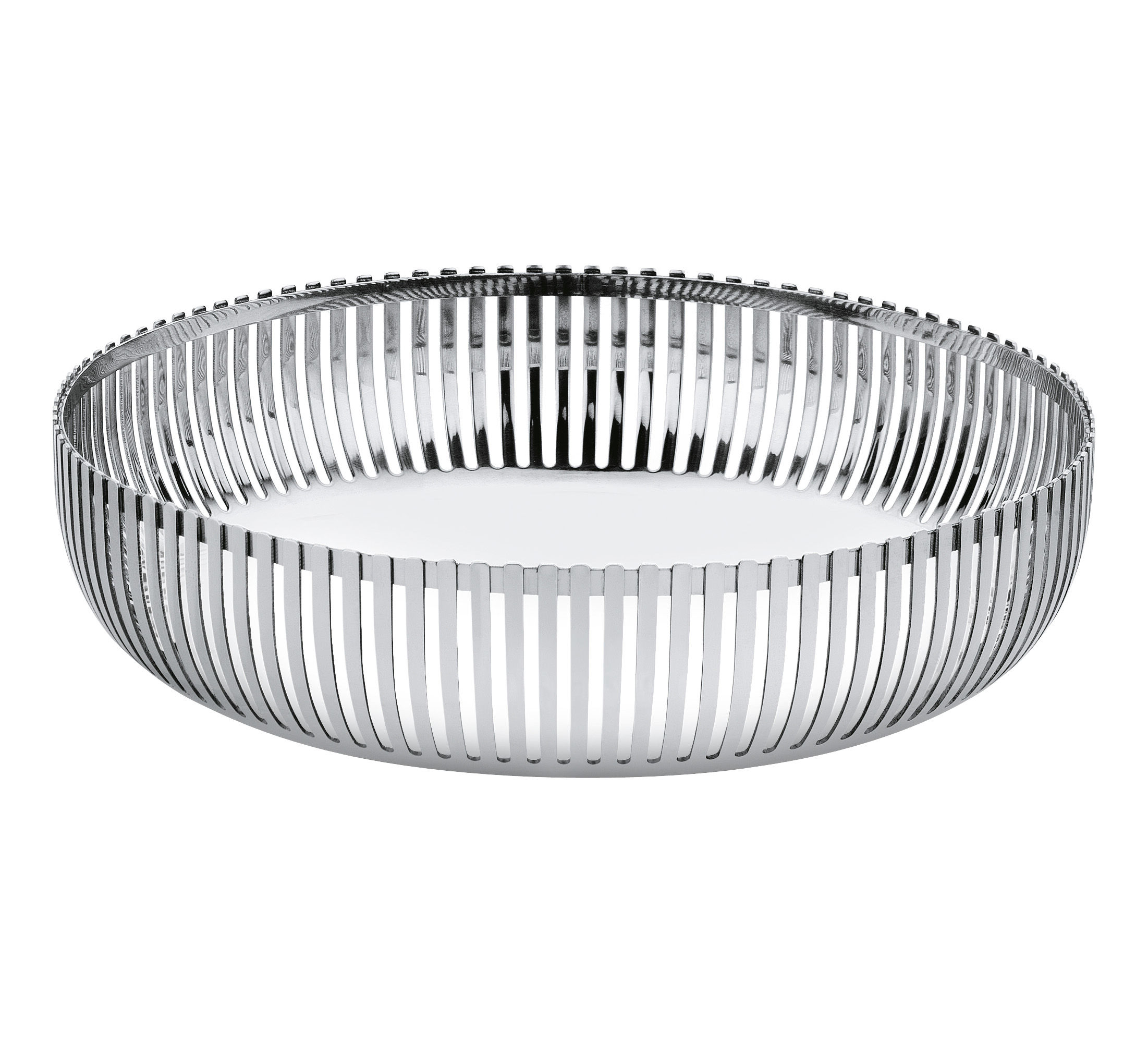 Tableware - Fruit Bowls & Centrepieces - PCH02 par Pierre Charpin Basket - Ø 20 cm by Alessi - Ø 20 cm - Mirror polished steel - Polished stainless steel