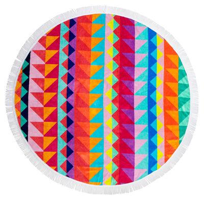 Outdoor - Déco et accessoires - Drap de bain Tangalle / Ø 150 cm - Coton éponge - Sunnylife - Tangalle / Multicolore - Coton éponge
