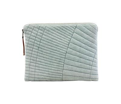 Accessoires - Objets connectés, accessoires high tech - Housse pour tablette Sleeve / iPad - House Doctor - Vert clair - Coton, Polyester