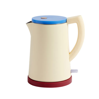 Kitchenware - Kitchen Appliances - Sowden Kettle - / Steel - 1.5 L by Hay - Yellow - Polypropylene, Stainless steel