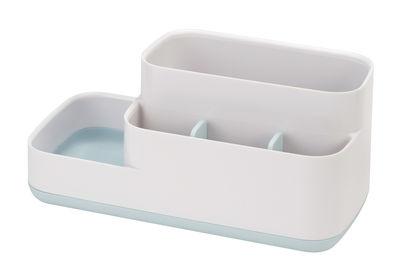 Accessori moda - Accessori bagno - Organizzatore Easy-Store - / Per il bagno - 5 scomparti di Joseph Joseph - Blu & Bianco - ABS