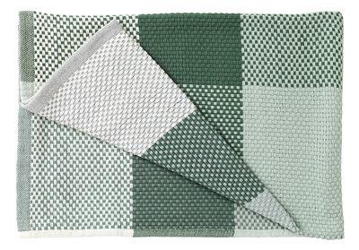 Image of Plaid Loom / 130 x 180 cm - Muuto - Verde,Verde pallido - Tessuto