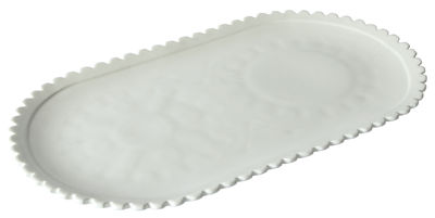 Tableware - Plates - Machine Collection Presentation dish - / 45 x 25,6 cm by Diesel living with Seletti - White - China