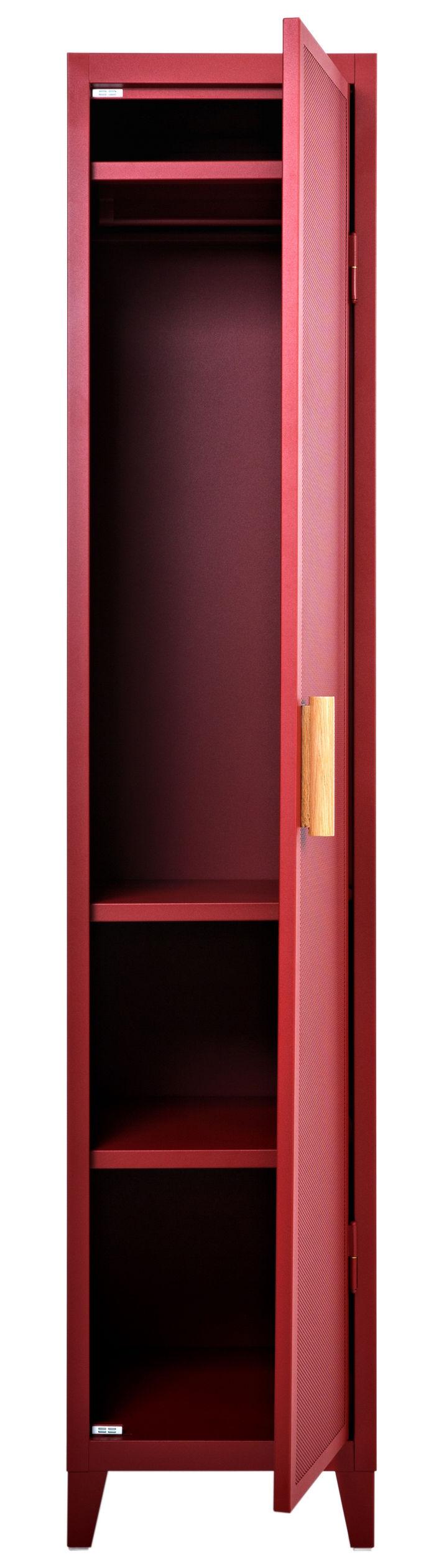 rangement vestiaire penderie 1 porte acier perfor. Black Bedroom Furniture Sets. Home Design Ideas