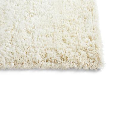 Decoration - Rugs - Shaggy Rug - / 170 x 240 cm - Deep pile by Hay - Cream - Wool