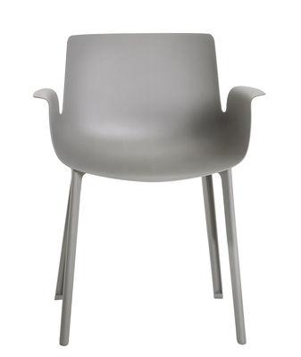 Piuma Sessel / Kunststoff - Kartell - Grau