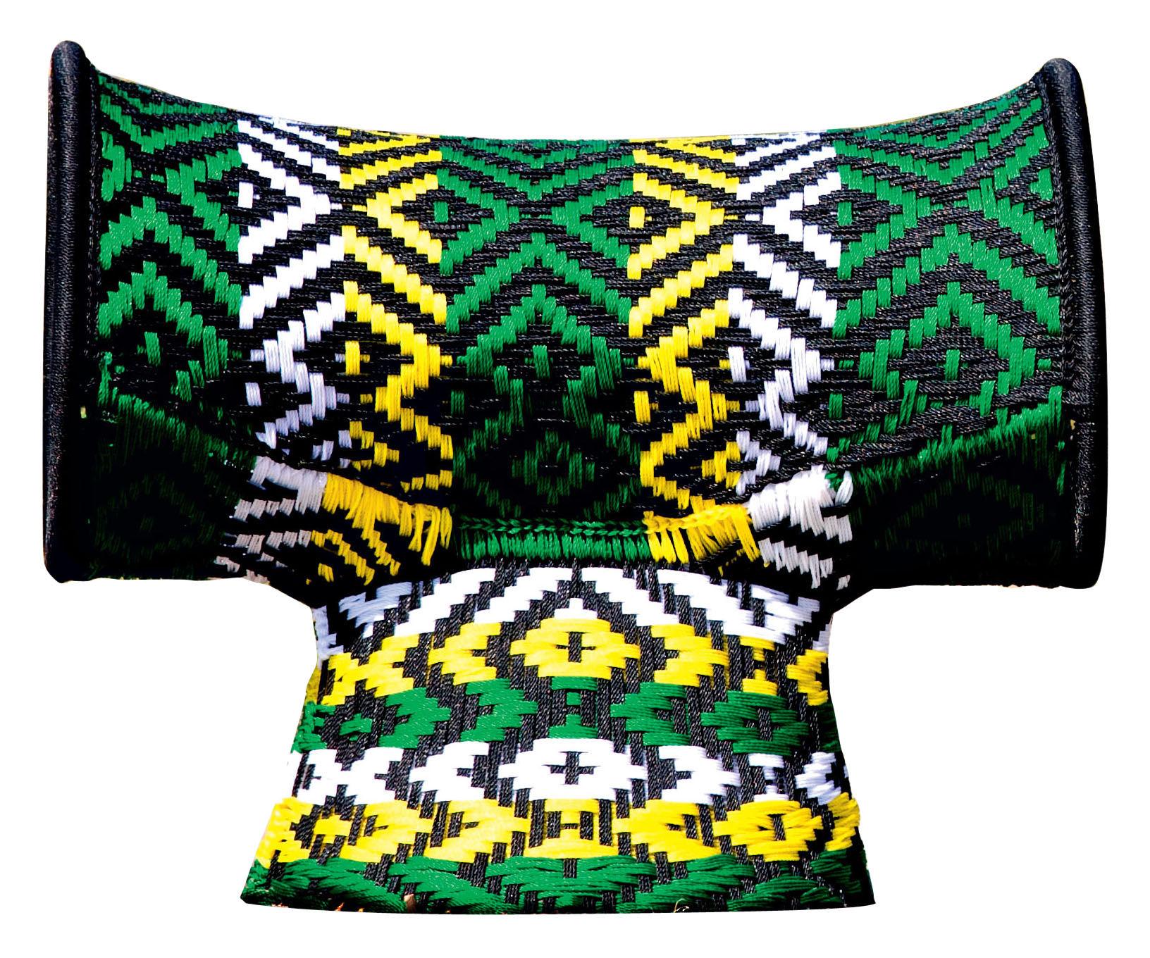 Arredamento - Sgabelli - Sgabello M'Afrique - Touti di Moroso - Tonalità verde - Acciaio verniciato, Materiale plastico