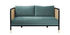 Cannage Straight sofa - / L 160 cm - Fabric by RED Edition
