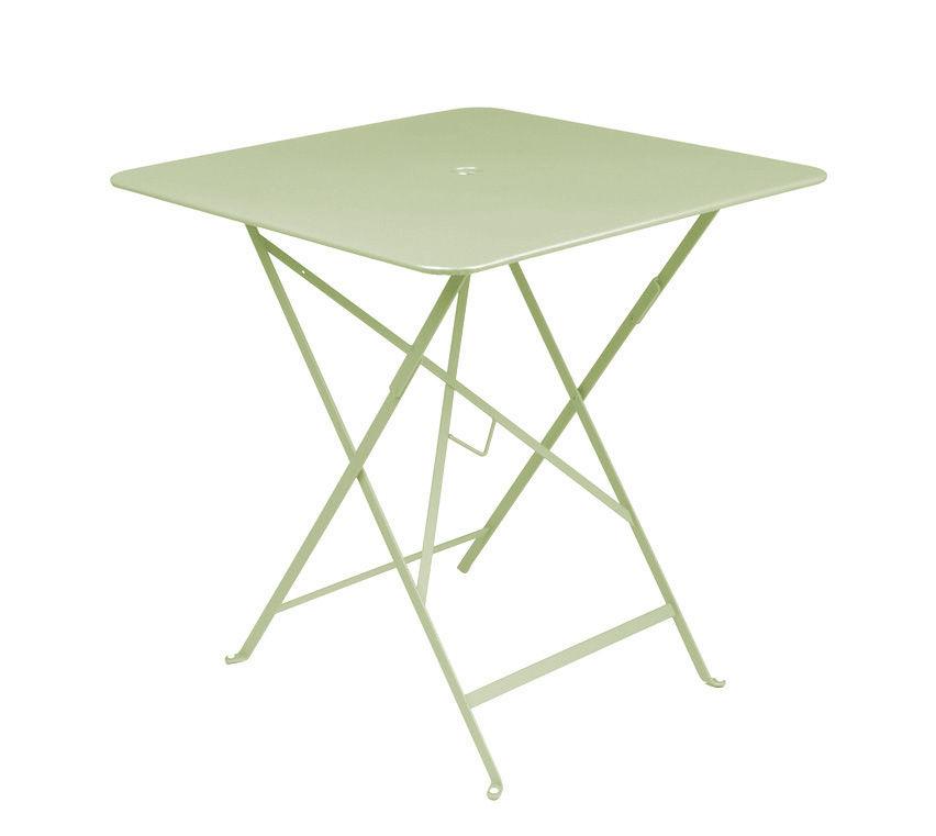 Table pliante Bistro Fermob - Tilleul - h 74 | Made In Design