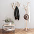Ambroise Wall coat rack - / L 56 x H 68 cm - Oak by Hartô
