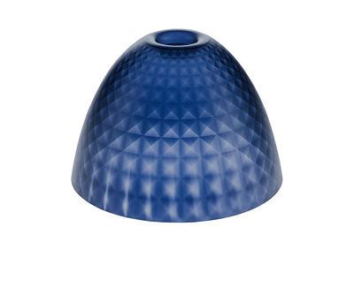 Abat-jour Stella Small / Ø 25,5 cm - Koziol bleu marine transparent en matière plastique