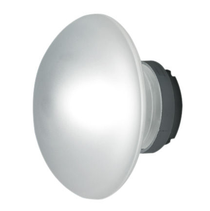 Illuminazione - Lampade da parete - Applique Sillaba LED - /Plafoniera di Fontana Arte - Vetro sabbiato - Tecnopolimero, Vetro sabbiato