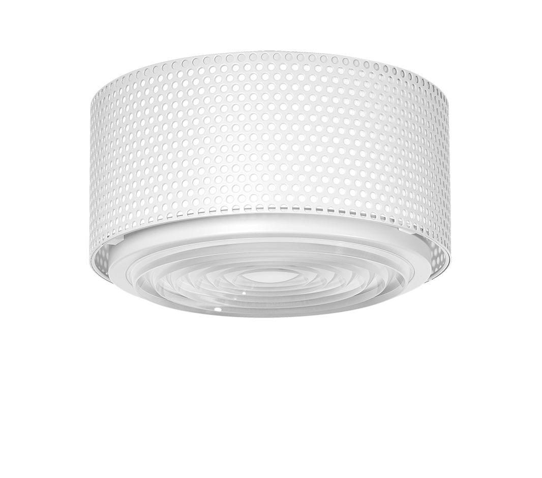 Lighting - Ceiling Lights - G13 Medium Ceiling light - / Reissue 1952, Pierre Guariche by SAMMODE STUDIO - White - Glass, Metal