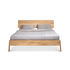 Air Double bed - / For mattress 180 x 200 cm - Solid oak by Ethnicraft
