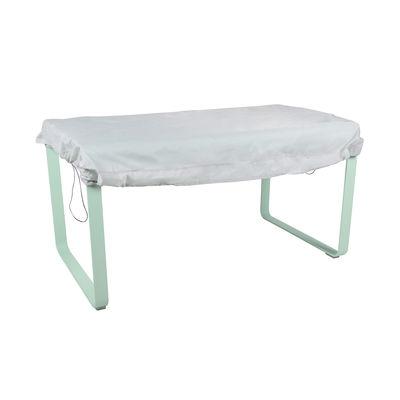 Jardin - Tables de jardin - Housse de protection / Pour tables Fermob jusqu'à 160 x 100 cm - Fermob - 160 x 100 cm / Gris - Tissu polyamide