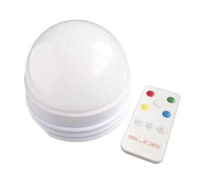 Kit LED RGB Candy Light multicolore / Compatible avec le mobilier lumineux - Slide blanc en matière plastique