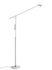 Lampada a stelo Fifty-Fifty - / Orientabile - H 135 cm di Hay