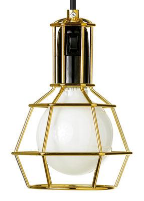 Illuminazione - Lampade da tavolo - Lampada Work di Design House Stockholm - Oro - Acciaio dorato