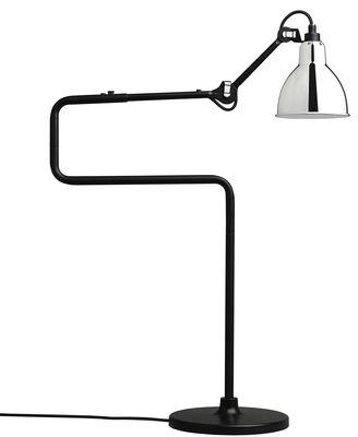 Luminaire - Lampes de table - Lampe de table N°317 / H 65 cm - Lampe Gras - DCW éditions - Chrome - Acier