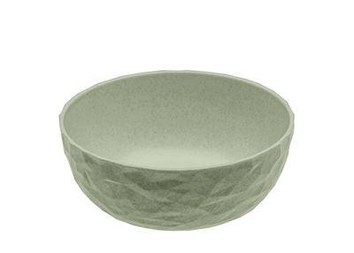 Tischkultur - Salatschüsseln und Schalen - Club Schale / Ø 16 cm x H 6 cm - Bio-Kunststoff - Koziol - Organic Green - Bio-Kunststoff