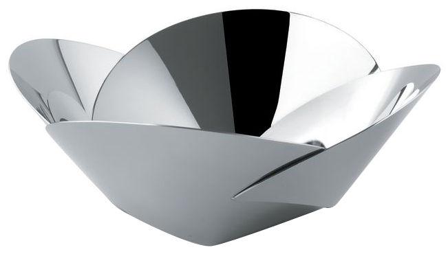 Tischkultur - Salatschüsseln und Schalen - Pianissimo Schale - Alessi - Stahl poliert glänzend - rostfreier Stahl