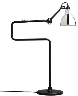 Lighting - Table Lamps - N°317 Table lamp by DCW éditions - Chrome - Steel