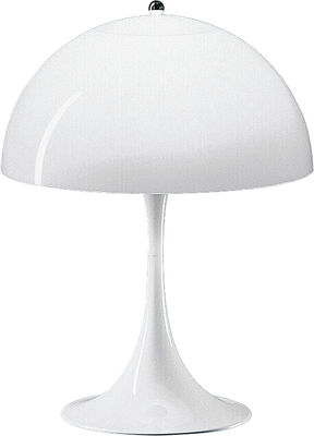 Lighting - Table Lamps - Panthella Table lamp by Louis Poulsen - White - ABS, Acrylic