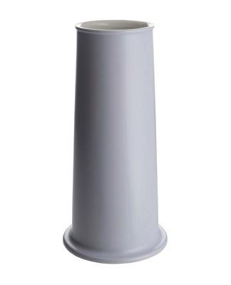Vase Tonale Large / H 31 cm - Alessi blanc,bleu en céramique