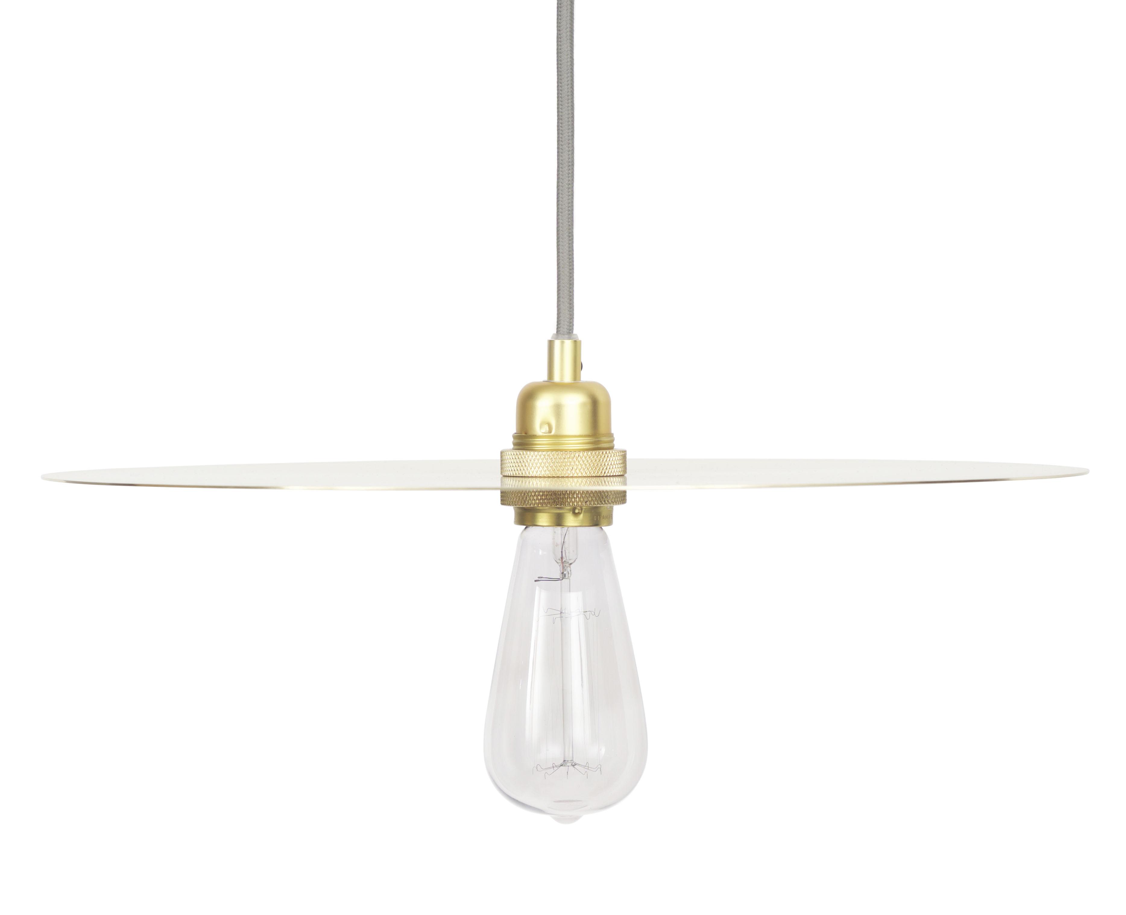 Luminaire - Suspensions - Abat-jour Circle Large / Ø 40 cm - Frama  - Large - Laiton - Laiton