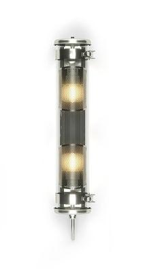 Applique Musset Grillagée / Suspension - L 52 cm - SAMMODE STUDIO argent/métal en métal/verre