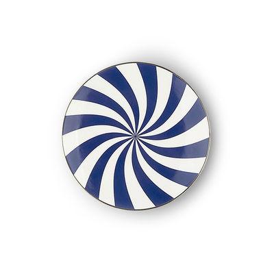 Arts de la table - Assiettes - Assiette à mignardises Ruota / Ø 12 cm - Bitossi Home - Spiral - Porcelaine